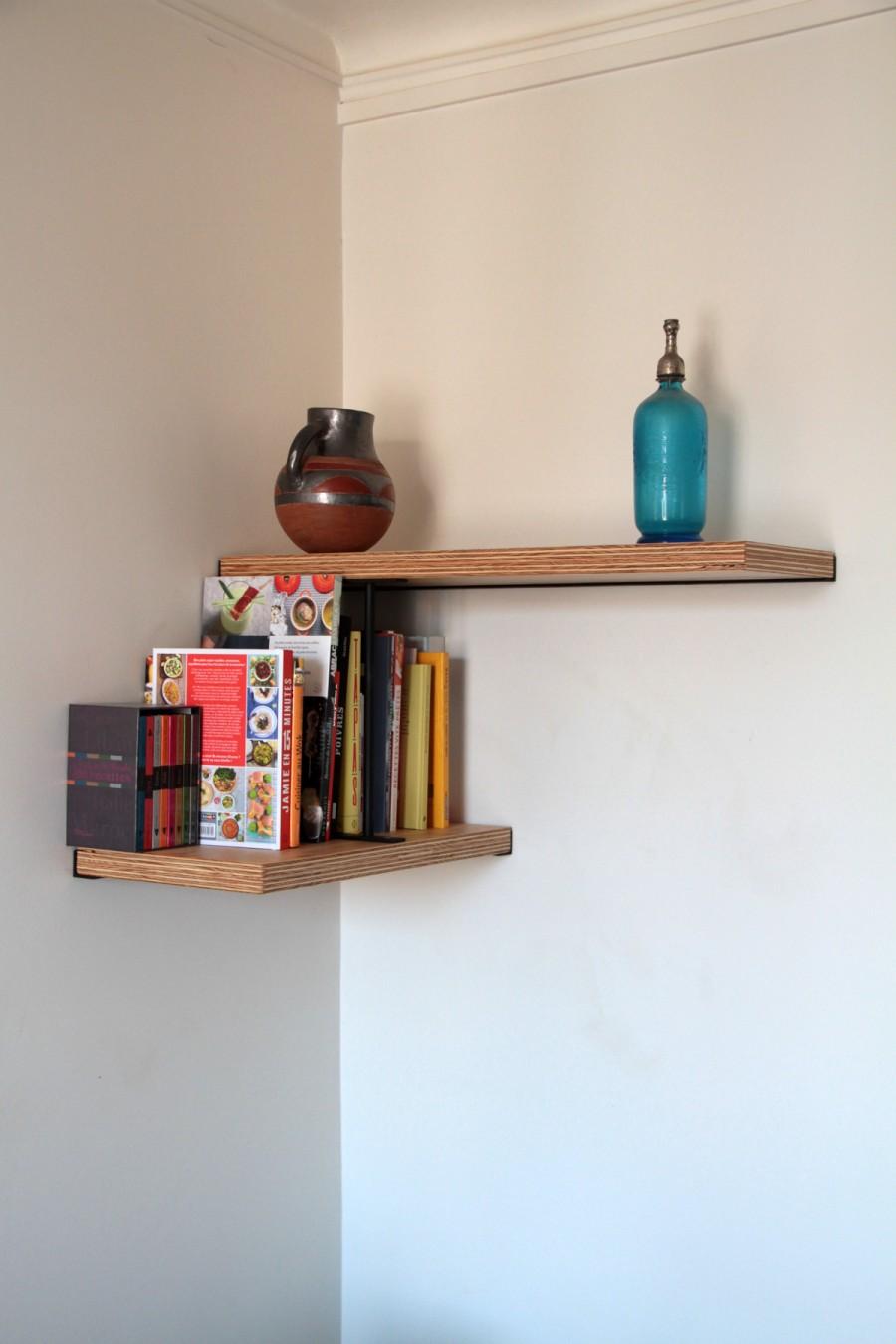 Bibliothèque sur-mesure Hugo - module en L cuisine